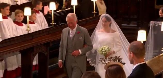 nunta 2 Meghan Markle, superba in rochie de mireasa (VIDEO)
