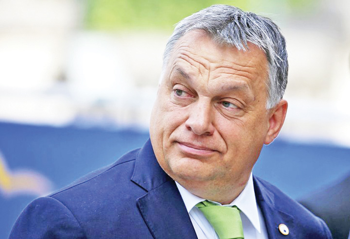 orban medalion Orban scoate din Ungaria Fundatia Soros