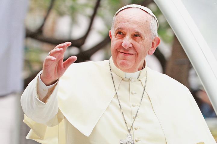 """papa Papa Francisc: """"Dumnezeu te a facut gay"""""""