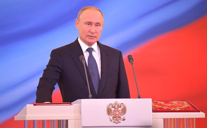 putin constitutie Juramantul lui Putin
