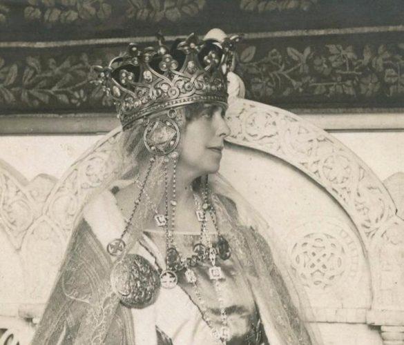 regina maria fotoMNIR 585x500 Coroana Reginei Maria, simbol al Marii Uniri