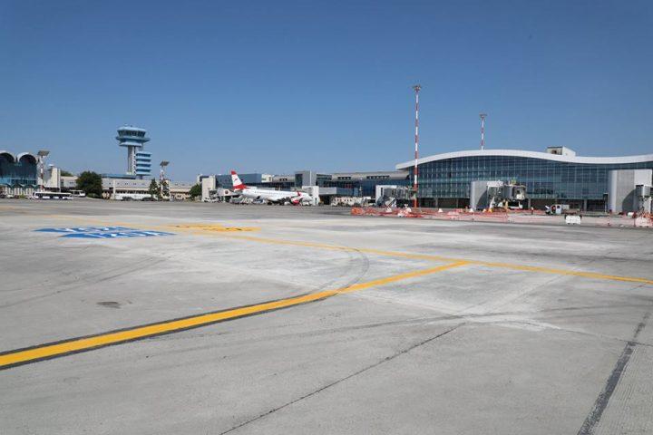 reparatii pista 720x480 Detalii despre stadiul reparatiilor de pe Otopeni. Anunt dinspre Aeroporturi Bucuresti