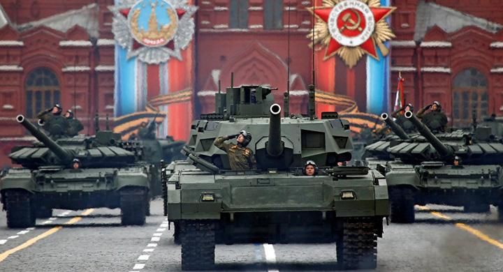 rusia mare Putin, ocupat cu defilarea