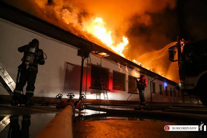 scoala 2 Scoala care a ars in Bucuresti nu avea autorizatie de securitate la incendiu