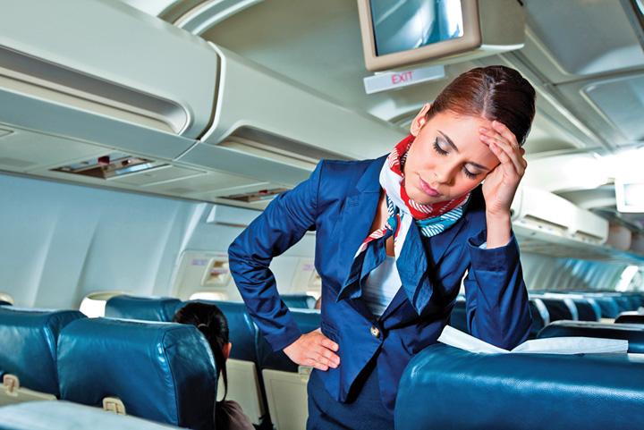 stewardese 68% din stewardese sunt hartuite sexual
