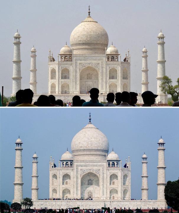 taj 1 Taj Mahal, in pericol