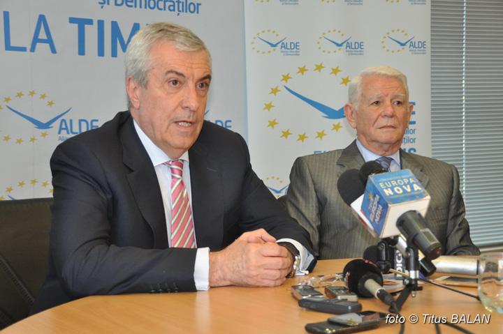 tariceanu 1 ALDE, premianta clasei politice