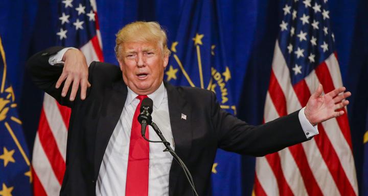 trump Trump si a dictat buletinul de sanatate
