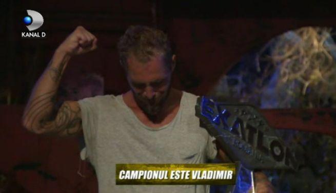vladimir Vladimir Draghia a castigat Exatlon Romania