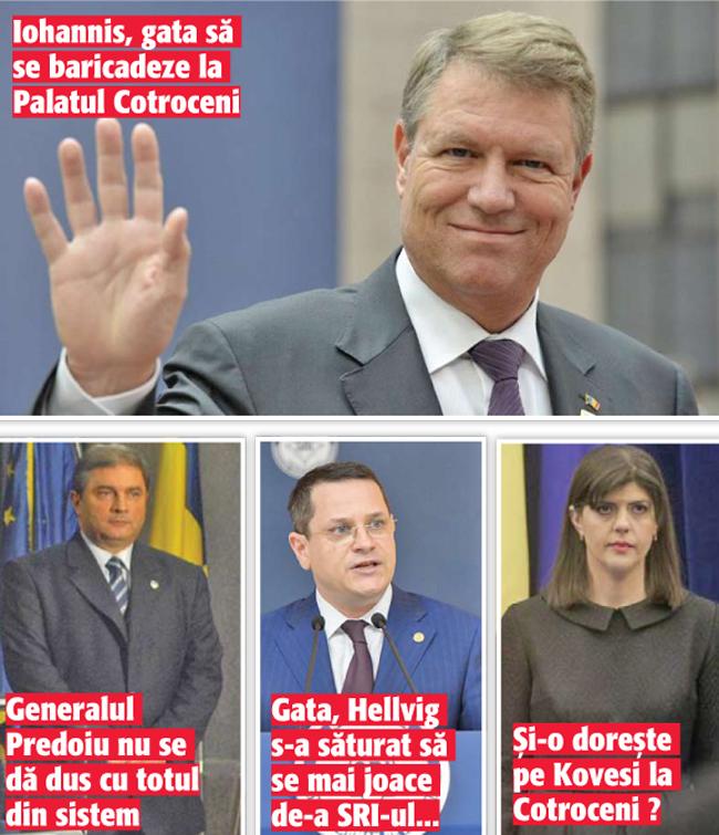 02 03 8 Predoiu – Hellvig – Kovesi, consilieri prezidentiali!