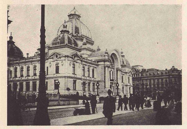 CEC 3 Palatul CEC, simbol pentru arhitectura Micului Paris