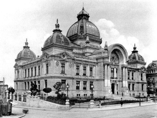 CEC FOTO1 667x500 Palatul CEC, simbol pentru arhitectura Micului Paris