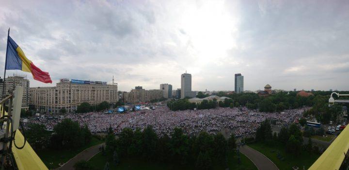 IMG 20180609 WA0013 720x350 Mobilizare fara precedent a PSD: peste 250.000 de oameni in Piata Victoriei (Galerie FOTO)