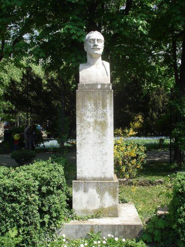 "Rotonda Scriitorilor   Duiliu Zamfirescu 375x500 ""Rotonda Scriitorilor"", 75 de ani de la inaugurare"