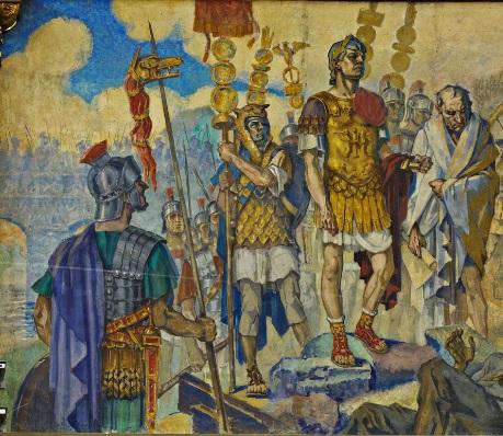 """a1 Fresca Ateneului Român, """"poemul istoriei românilor"""" (II)"""