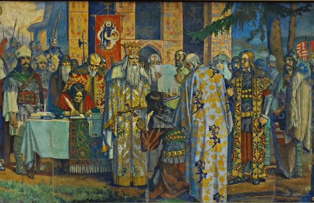 """a10 Fresca Ateneului Român, """"poemul istoriei românilor"""" (II)"""