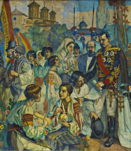"""ateneu20 435x500 Fresca Ateneului Român, """"poemul istoriei românilor"""" (II)"""