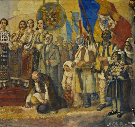 """ateneu25 530x500 Fresca Ateneului Român, """"poemul istoriei românilor"""" (II)"""