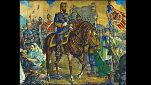 """ateneul romnmarea fresca a neamuluiaverio 31 638 Fresca Ateneului Român, """"poemul istoriei românilor"""" (II)"""