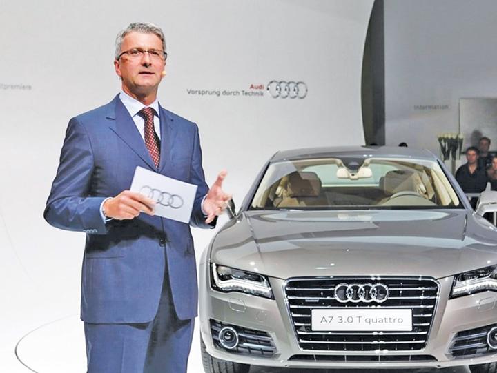 audi Directorul  Audi, arestat in ancheta Dieselgate