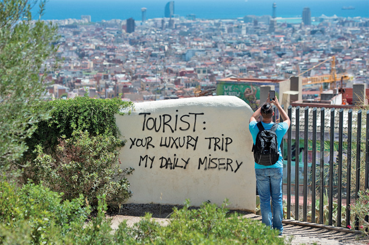 barcelona 1 Barcelona vrea migranti, nu turisti
