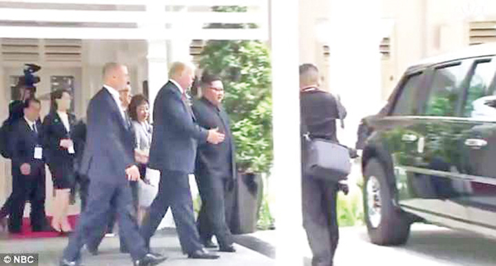 bestia Kim si Trump, dezarmare pace!