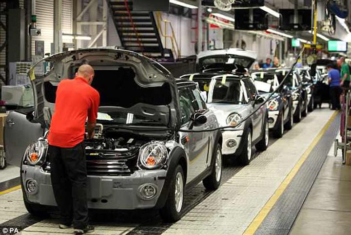 bmw anglia BMW ameninta ca paraseste Anglia