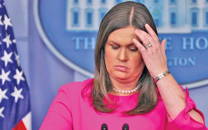 casa alba 1 Purtatoare de vorbe a lui Trump, pazita de Secret Service
