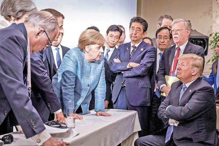 donald trump angela merkel g7 summit Europa, a venit decontul!