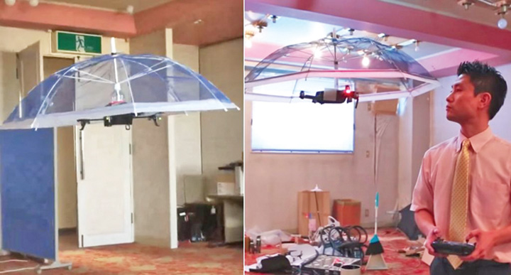 drona 1 Drona umbrela