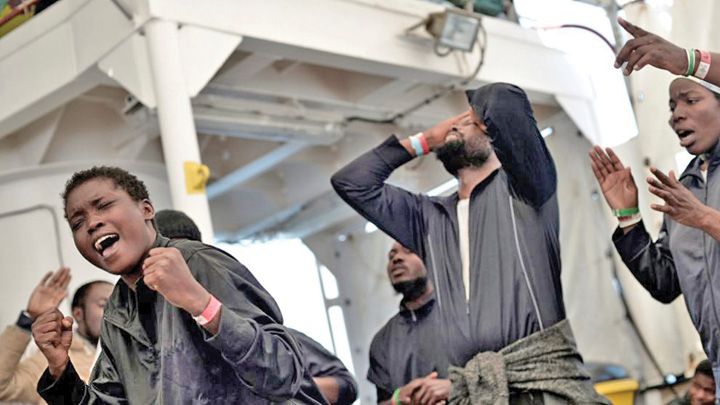 imigranti 2 Europa nemiloasa: ping pong cu migrantii