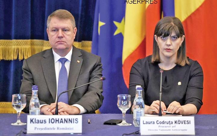 """iohannis kovesi Iohannis, """"tradat"""" de PSD ALDE"""