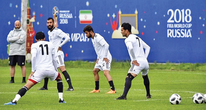 iran Nike refuza sa incalte nationala Iranului