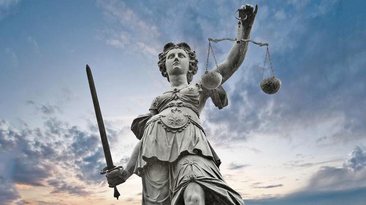 justitie statuie Justitia, o Cenusareasa nationala