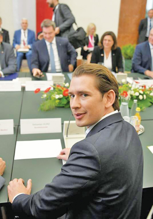 kurz Victor Orban face summit anti migratie
