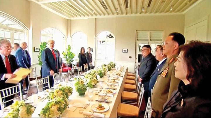 masa Kim si Trump, dezarmare pace!