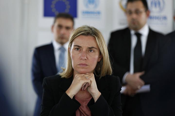 medalion mogherini UE s a trezit ca a castigat Erdogan