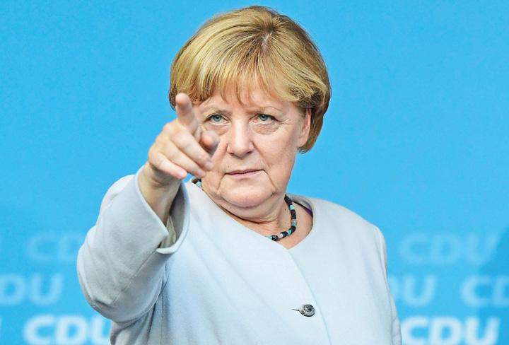 merkel maaaaare Heil, Merkel! Se vrea stapana Europei