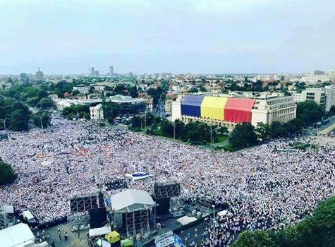 miting M 430.000 de oameni au fost la mitingul PSD