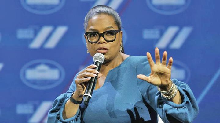 oprah Oprah produce pentru Apple