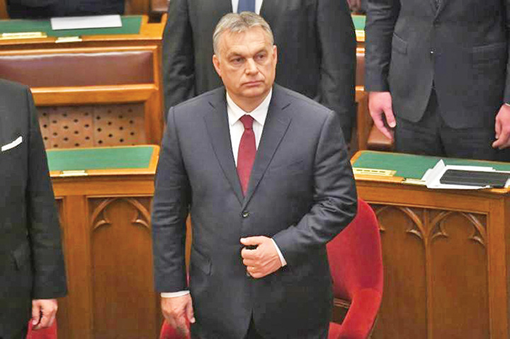 orban Victor Orban face summit anti migratie