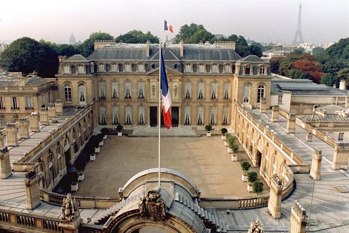 palatul elysee Palatul Elysee se transforma in brand