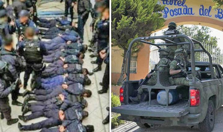 politia 1 Orasul care si a arestat toti politistii