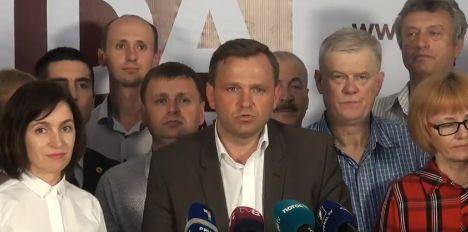primar Andrei Nastase e noul primar al Chisinaului. Reactii de la Bucuresti