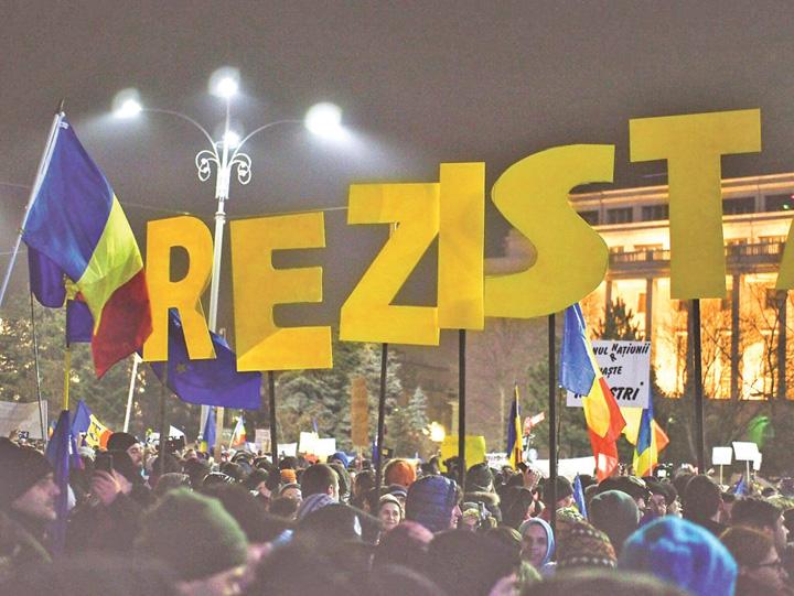 proteste Rezist Pesedistii si hastagistii se intrec in prostii