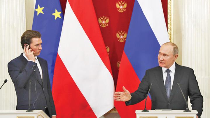 putin austria Din Austria, Putin linisteste Europa