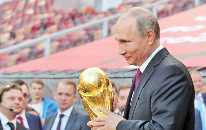 putin2 Cupa Mondiala   o combinatie intre BRICS si FIFA