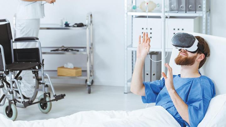 realitate virtuala Realitatea virtuala, antidot la durere