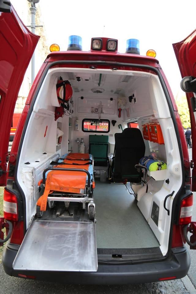 salvare Doi soferi au sfarsit intr un accident, pe DN 19