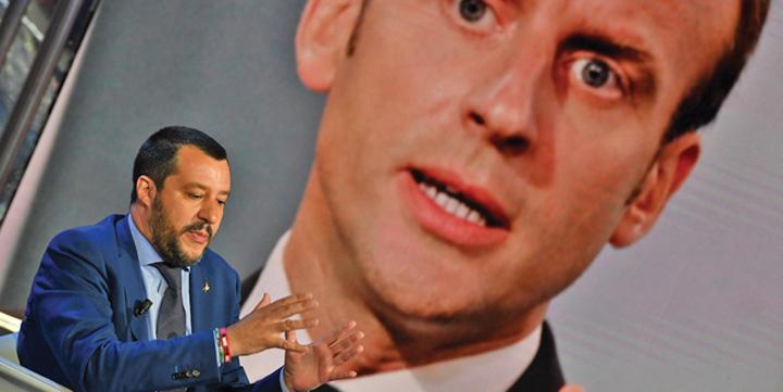 salvini macron Italia ii inchide gura lui Macron